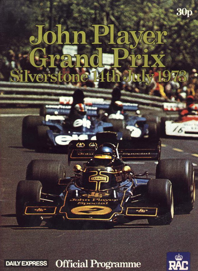 1973 formula 1 world championship programmes the motor racing programme covers project. Black Bedroom Furniture Sets. Home Design Ideas