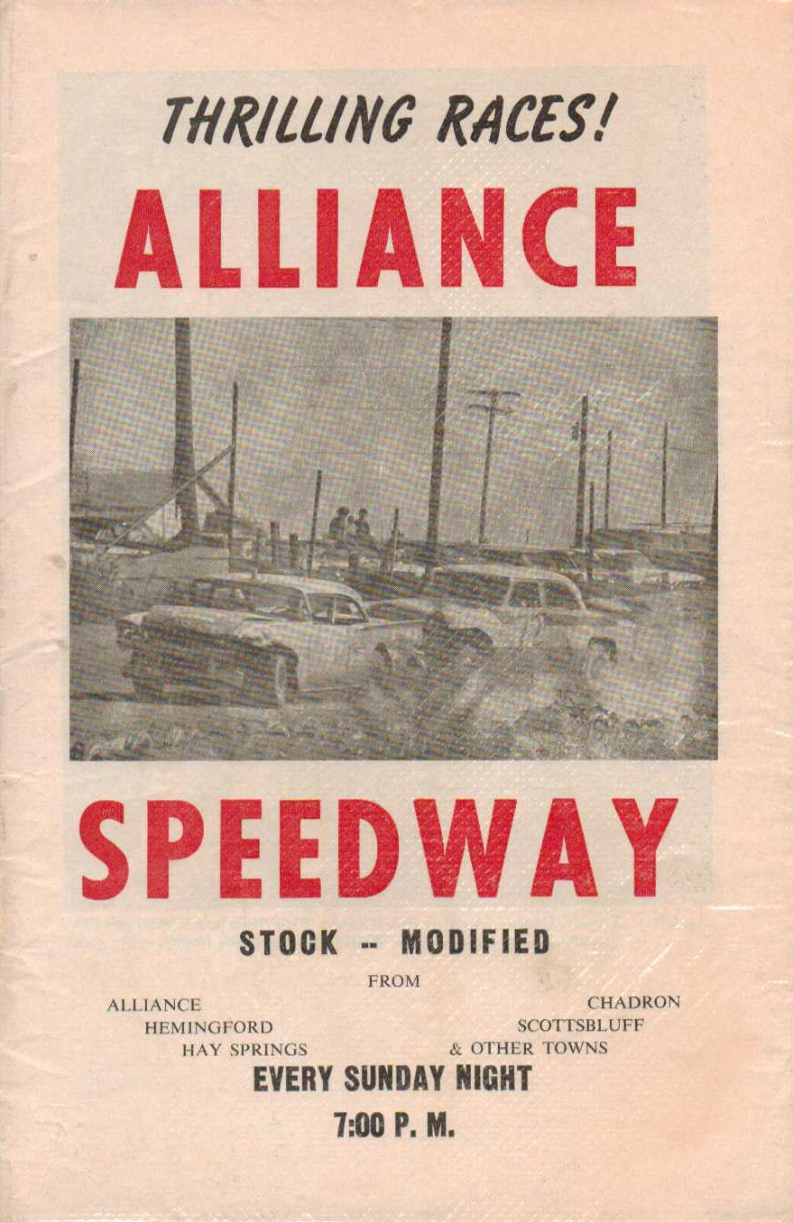 Alliance Speedway The Motor Racing Programme Covers Project