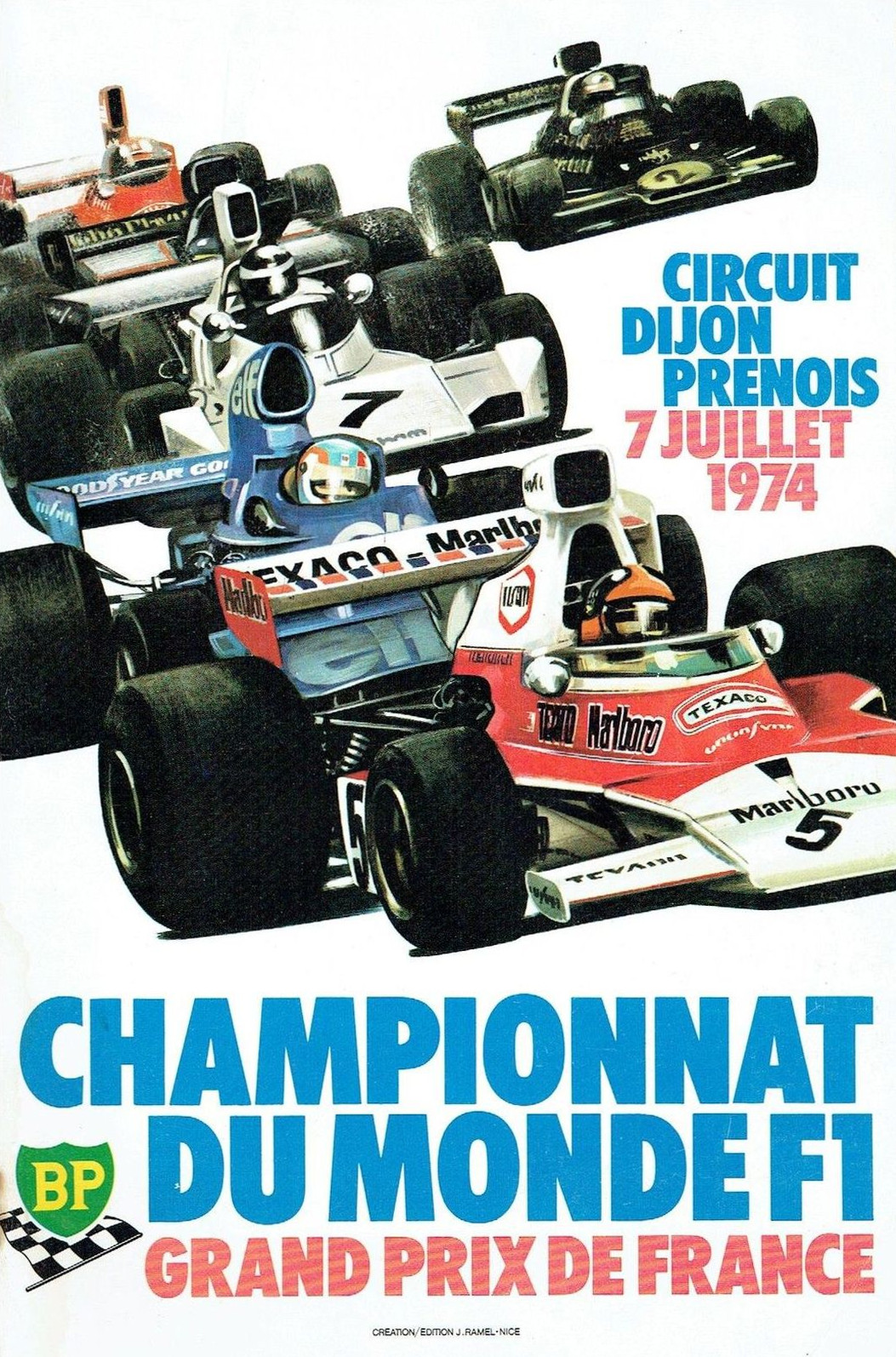 Can Am Car >> 1974 Formula 1 World Championship Programmes | The Motor Racing Programme Covers Project