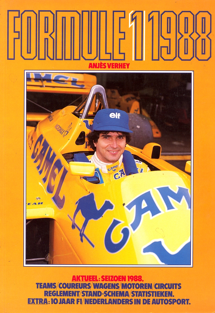 formula 1 media guides and yearbooks the motor racing programme covers project. Black Bedroom Furniture Sets. Home Design Ideas